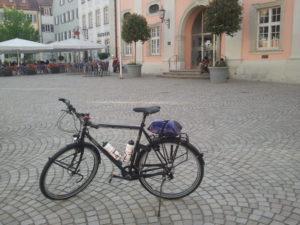 Reiserad noch ohne Fahrradausrüstung in Rottenburg am Neckar